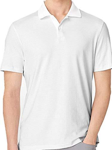 Calvin Klein Striped Liquid Cotton Polo - Klein Shirt Striped Polo Calvin