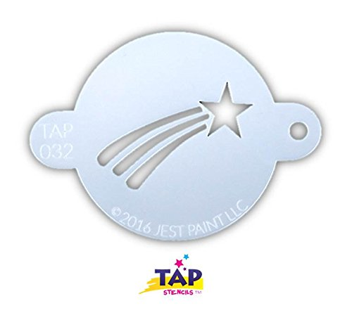 (TAP 032 Face Painting Stencil - Shooting Star)