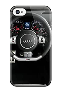 Hard Plastic Iphone 4/4s Case Back Cover,hot Free Audi Wallpaper Rs4 Case At Perfect Diy