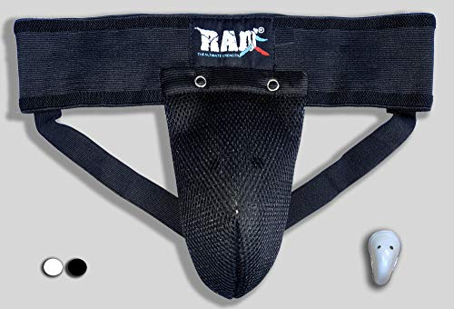 RAD Mens Groin Protector – MMA Athletic Cup – Boxing Abdominal Groin Guard, Nutty Buddy Sports Men