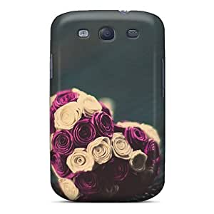 CWKsidY5344ilsYe Snap On Skin For Case Iphone 6 4.7inch Cover(roses Heart)
