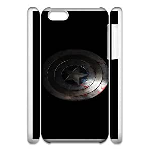 iPhone 6 5.5 Inch Cell Phone Case 3D Comics Captain America Shield Custom Made pp7gy_3356621