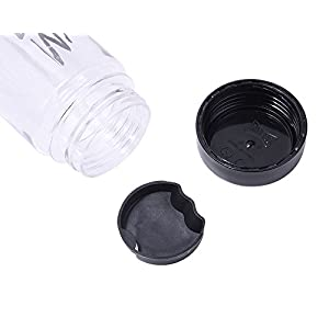 1 X Portable Clear Transparency My Bottle Sport Plastic Fruit Juice Water Coffee Cup 500ML