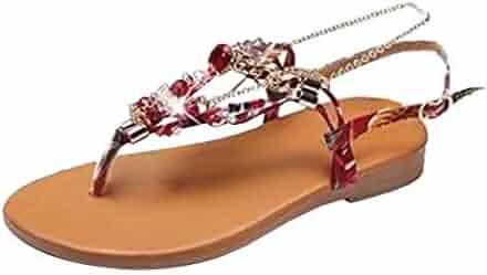a43066030 GoodLock (TM) Hot!! Women Belt Buckle Rhinestone Shoes Ladies Summer  Fashion Bohemian