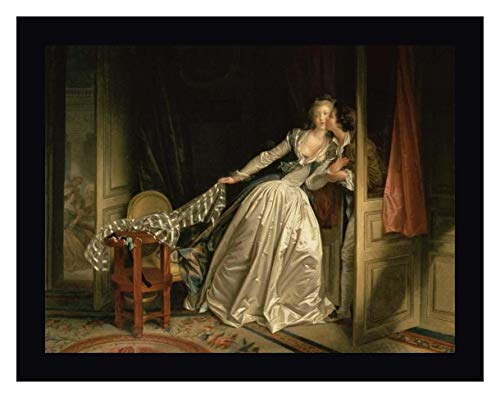 The Stolen Kiss by Jean-Honore Fragonard 19