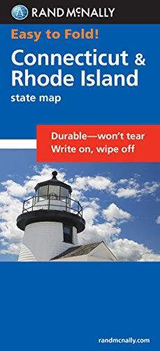 Easy To Fold: Connecticut, Rhode Island (Easyfinder Maps)