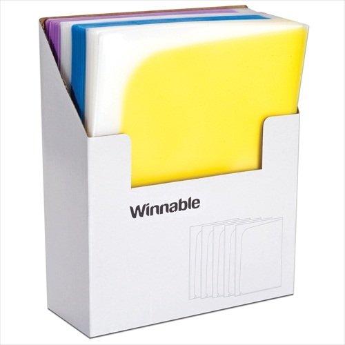 Roaring Spring Paper Products 52317 4 Pocket Poly Folder - 48 Per Case