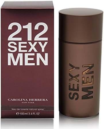212 Sexy by Carolina Herrera For Men. Eau De Toilette Spray 3.4-Ounces