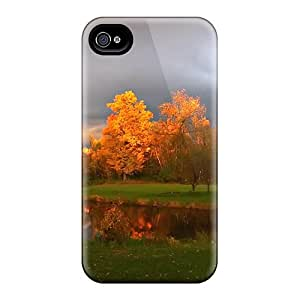 Iphone 6 Cases Slim [ultra Fit] Changing Of Leaves Protective Cases Covers