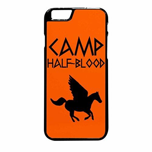 Camp Half-Blood Case / Color Black Rubber / Device iPhone 6 Plus/6s Plus
