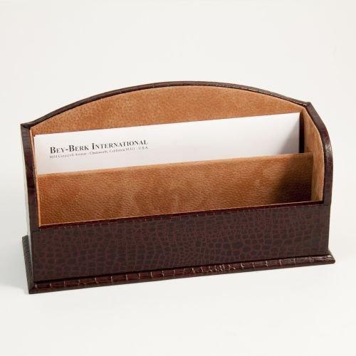 (Bey Berk Letter Rack Brown