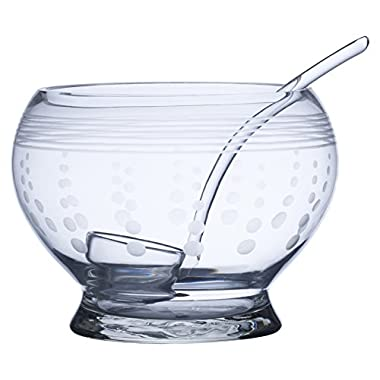 Mikasa Cheers Punch Bowl Pitcher with Ladle, 180-Ounce