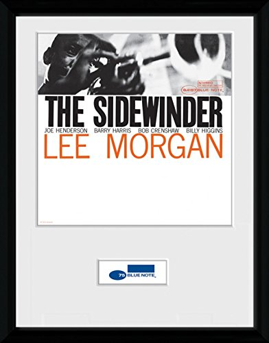 Blue Note Records Framed Collector Poster - The Sidewinder, Lee ...