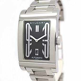 wholesale dealer 16cf1 bdbb7 Amazon   [ブルガリ]BVLGARI 腕時計 レッタンゴロ RT45S メンズ ...