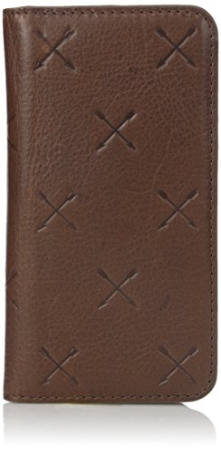 Fossil Men's Iphone 6 Brown Leather Phone Walet, One Size (Iphone 6 Fossil)