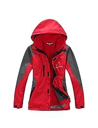 LANBAOSI Women's Skiing Snow Outerwear Waterproof Breathable Winter Jacket