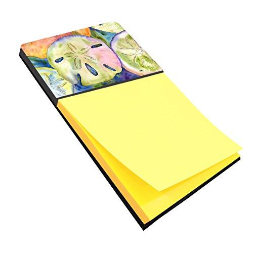 "Caroline's Treasures Sand Dollar Refillable Sticky Note Holder or Postit Note Dispenser, 3.25 by 5.5"", Multicolor"