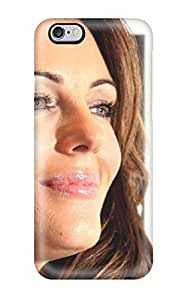 New Cute Funny Elizabeth Hurley Smiling Actress Face Head Smile Hair White People Women Case Cover/ iphone 6 plus Case Cover