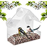 FineLife Window BIrd Feeder Large Food Tray and Suction Cup Review