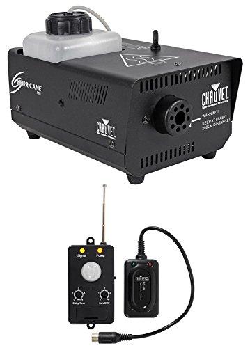 Chauvet DJ Hurricane 901 4000 cfm Fog Machine H901 + Transmitter Motion Sensor by Chauvet