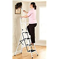 4 Step Safety Ladder with Handles