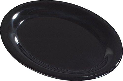 Carlisle 3308603 Sierrus Melamine Oval Serving / Dinner Platters, 9.5