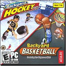 Backyard Hockey 2005 (PC) / Backyard Basketball (PC/Mac) bundle ()