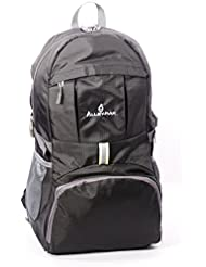 Alley-Pak Hiking Backpack by Lightweight Waterproof Travel Backpack | Nylon Reflector 35L