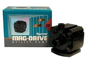 Supreme Pondmaster Mag-Drive Utility Pump 2 with 10' Power Cord