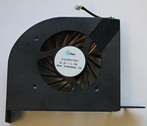 Fasttop Ventilador reemplazo para HP Pavilion dv6-2160eg dv6-2160eh dv6-2160el dv6-2160em dv6-2160eo dv6-2160ep dv6-2160eq dv6-2160er dv6-2160es dv6-2160et dv6-2160ez dv6-2160sv DV6-2160TX DV6-2161TX dv6-2162ez dv6-2162nr dv6-2162sl