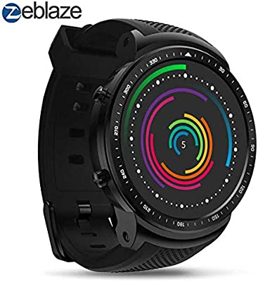 crae9kd Zeblaze Thor PRO 1.53 Inch 1+16GB 3G GPS WiFi Smartwatch Android 5.1 MTK6580 Quad Core 2.0 MP Camera Heart Rate Monitor Smart Watch
