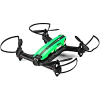 Flytec T18 Wifi FPV Mini Drone 6 axis 2.4GHz 4 Channels RC Racing Quadcopter 720P Video Camera FPV Helicopter for Beginners (Green)