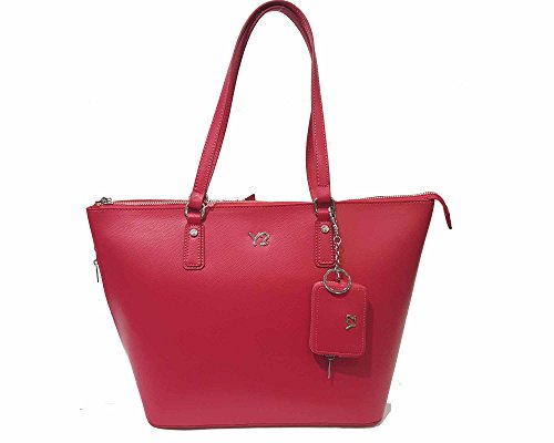 YNOT Shopping Pelle Borsa Donna Strawberry Rosso MC036
