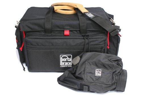 Portabrace DVO-2RQS-M2 DV Organizer/Quick Slick (Black/Red) by PortaBrace