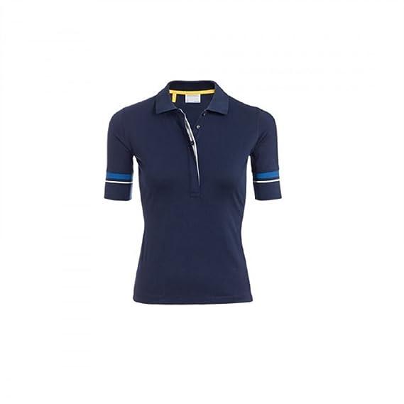 Porsche - Polo - para Mujer Azul Azul: Amazon.es: Ropa y accesorios