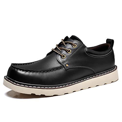 Cordones Puro Negro shoes Hombre Eu Zapatos Oxford zapatos Hombre Ligeros Negro De Para color Puro Moda Redondos Formales Tamaño Con Cómodos 42 Color Jiuyue PF6xqgF