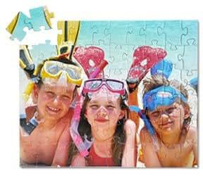Jigsaw2order - 60 piece Kids Personalized Photo Jigsaw Puzzle, 10x12in