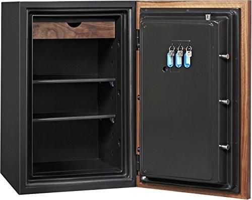 Phoenix DBAUM Fingerprint Lock Luxury Fireproof Safe with Walnut Door 3.0 cu ft by Phoenix Safe International (Image #2)