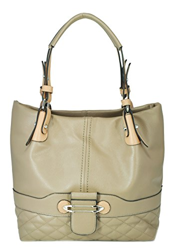 sr-squared-by-sondra-roberts-nappa-quilted-tote-shoulder-bag-taupe