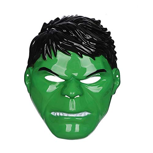 HOLLUK Mask American Captain Man Masks Cosplay Halloween Children Toy -Multicolor Complete Series Merchandise]()
