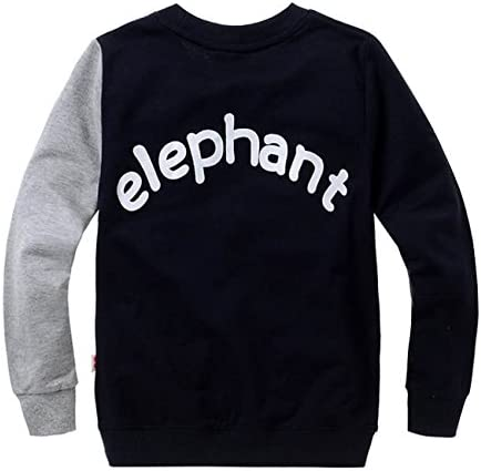 Boys Sweatshirts Elephant Pullover T-Shirts