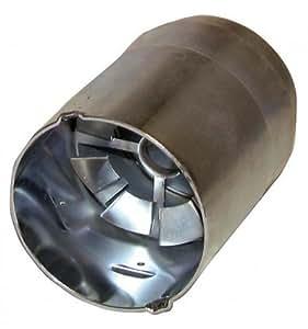 Bentone ahr - Tubos de llama y accesorios - Tubo con deflector soldado HS10 - : 11934005