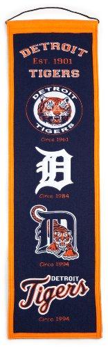 Perfect Games Mlb History - MLB Detroit Tigers Heritage Banner
