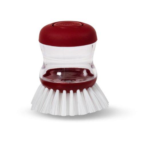 KitchenAid Soap Dispensing Palm Brush, Red (KC826OHERA)