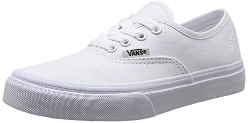 Vans Kids Authentic True White Skate Shoe