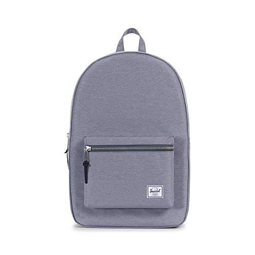 Herschel Settlement Backpack, Mid Grey Crosshatch, One Size