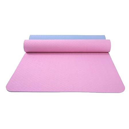 XUMI Yoga Mat, 6mm Antideslizante Yoga Mat Yoga TPE Deporte ...