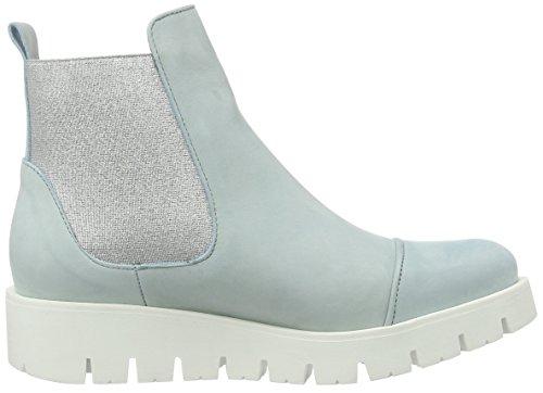 Schieten Damen Chelsea Boots Blau (teide)