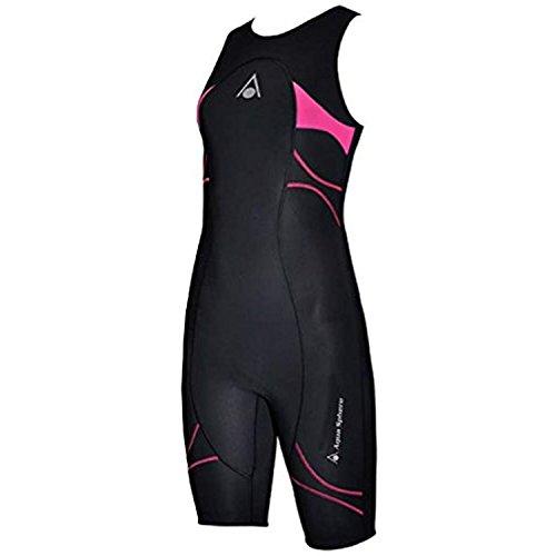 (Aqua Sphere Energize Triathlon Speedsuit Female Black/Pink 36)