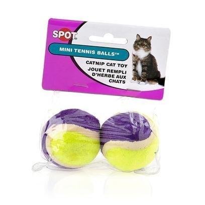 Mini Tennis Ball With Bell & Catnip